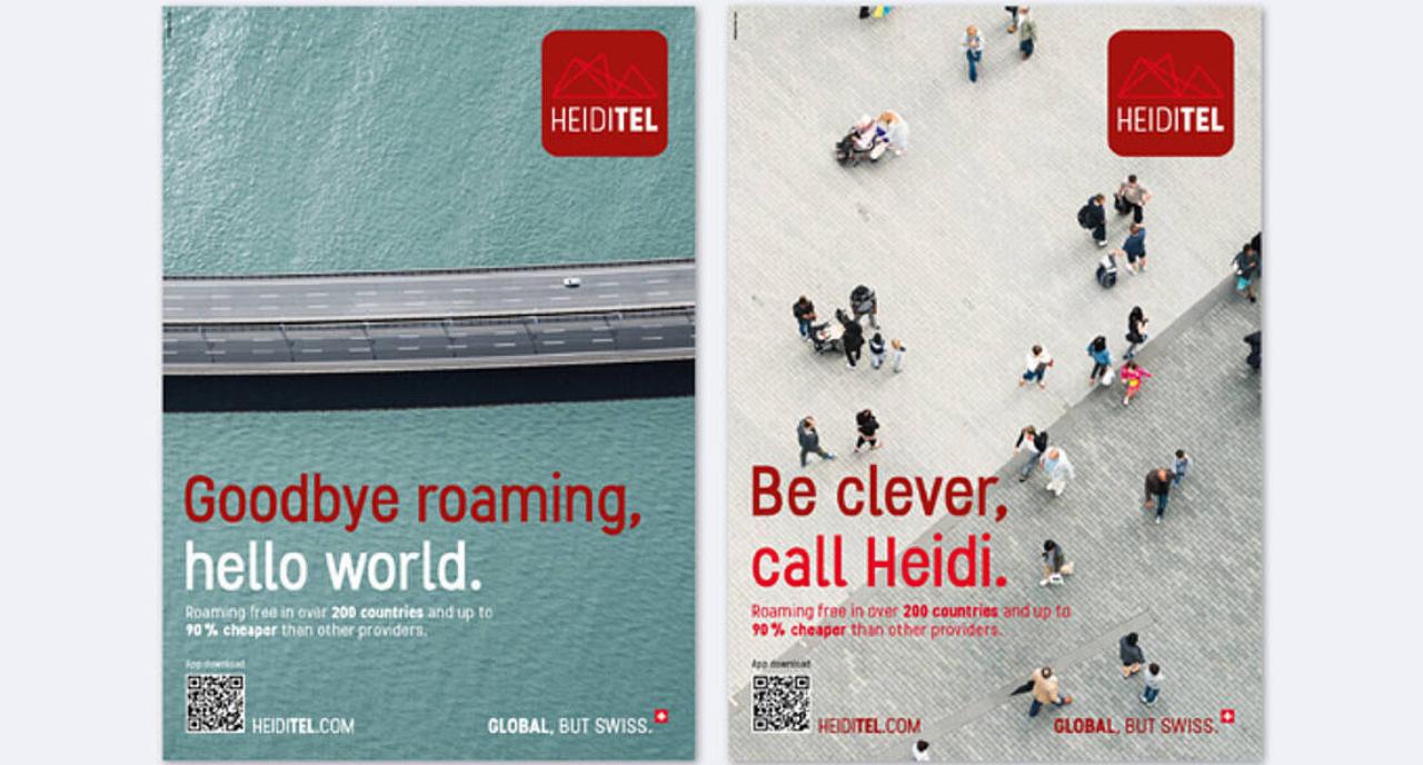 Branding Heiditel, Felix Partner Design